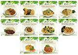 PlantPure International Collection, 10 Frozen Vegan Entrees (ONE OF EACH ENTREE)