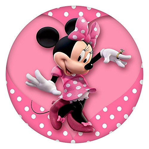 Snap Charm Colorful Painted Enamel Minnie Mouse 20mm 3/4