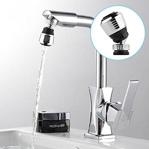MAONAME Faucet Filter Aerator Sprayer, Sink 360 Swivel Water Tap Saving for Kitchen Bathroom, Set of 3