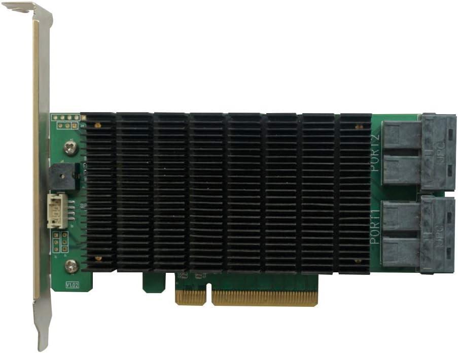 High Point RocketRAID 2840C PCIe 3.0 x8 16-Port 6Gb/s SAS/SATA RAID Controller