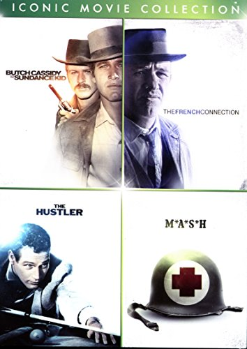 Iconic Movie Collection: Butch Cassidy & The Sundance Kid/The French Connection/The Hustler/M*A*S*H (MASH)
