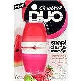 ChapStick Duo Kiwi Blister Card, Watermelon/Strawberry Kiwi, 0.40 Ounce
