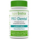 PRO-Dental: Probiotics for Oral & Dental Health – Targets Bad Breath at its Source – Top Oral Probiotic Strains Including S. salivarius BLIS K12 & BLIS M18 – Sugar Free (Chewable) – 45 Day Supply