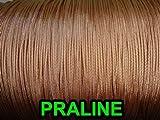 25 YARDS: 1.4 MM Praline Professional Grade Braided