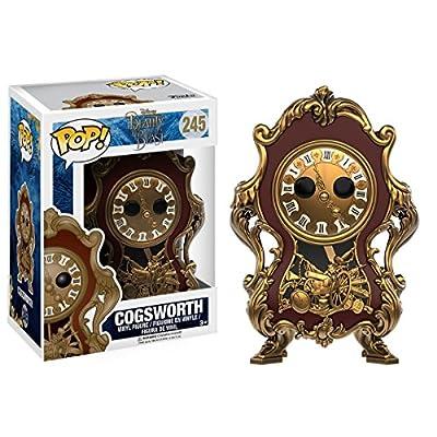 Funko POP Disney: Beauty & The Beast Cogsworth Toy Figure: Funko Pop! Disney:: Toys & Games