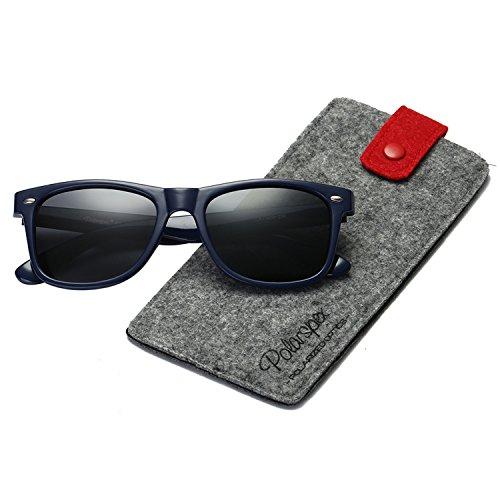 Polarspex Polarized 80's Retro Classic Trendy Stylish Sunglasses for Men Women by PolarSpex