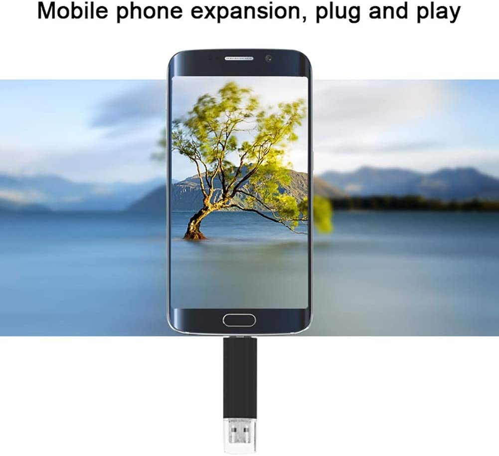 Color : 4GB ZCP Android Mobile Phone USB Flash Drive Type-c Interface 4//8//16//32GB Three-in-one 64GB//128GB OTG Metal USB Flash Drive USB Flash Drive