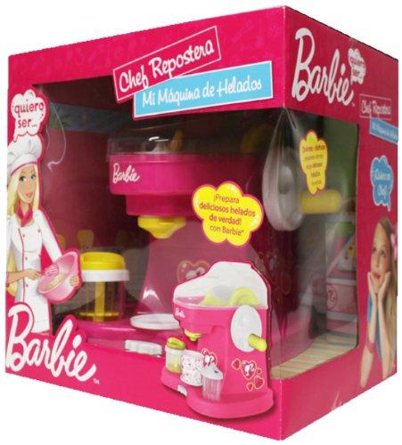 Desconocido Barbie - Chef Repostera, mi maquina de heladas: Amazon.es: Juguetes y juegos