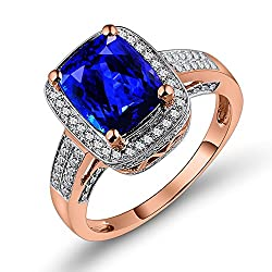 Tanzanite Diamond Ring Band