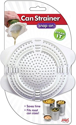 Jokari Snap-On Can Strainer (1, A) – The Super Cheap