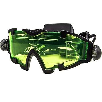 c87e6b777a Gafas de visión nocturna militar con banda elástica ajustable con luz LED  para actividades nocturnas: Amazon.es: Hogar