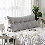 FRI Simple Bed cushions,Double double sofa backrest tatami Bed pillow -H 180x50x20cm(71x20x8)