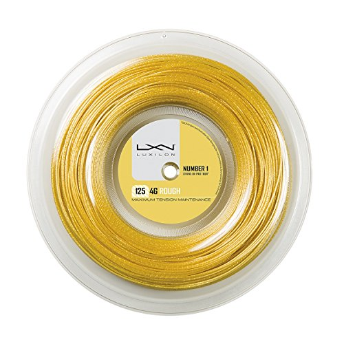 Wilson LUXILON 4G Rough 125 Reel, Gold, 200m/16L-Gauge