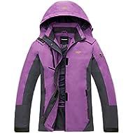 [Sponsored]Wantdo Women's Waterproof Mountain Rain Jacket Lightweight Windproof Softshell...