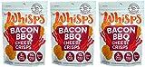 Whisps Cheddar Bacon BBQ (2.12oz) 3 Pack