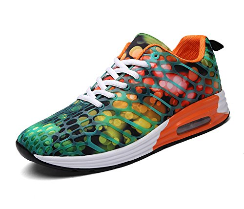 Image of FLARUT Womens Mens Lightweight Walking Trainers Gym Fitness Running Shoes Breathable Sport Sneakers