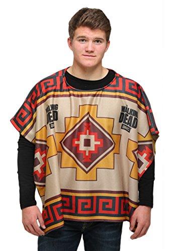 Piston Clothing mens Walking Dead Adult Daryl Dixon Poncho Standard