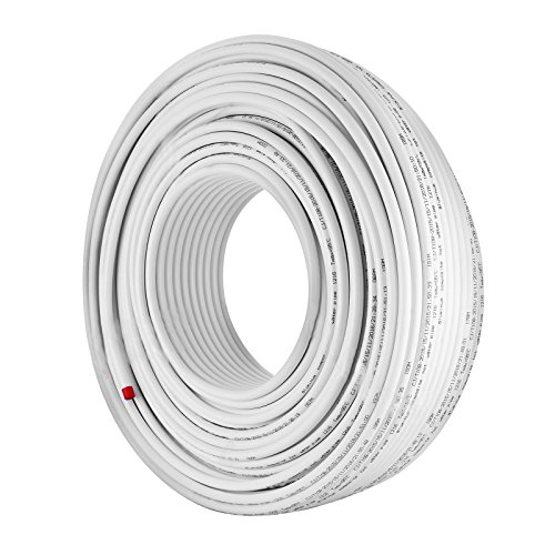 Tubing Pex White (Happybuy 656Ft Roll of 1/2