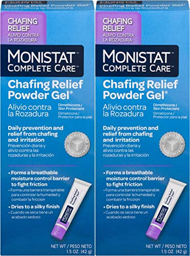 - MONISTAT Chafing Relief Powder Gel 1.5 oz (Pack of 2)
