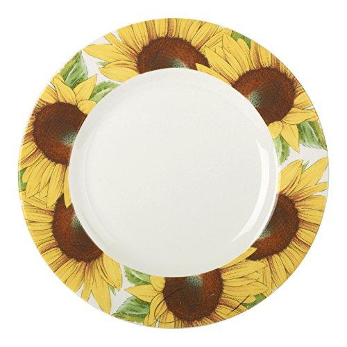 Portmeirion Botanic Blooms Sunflower Salad Plate (Set of 4)