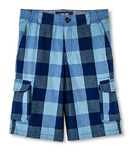 Cherokee Check (Cherokee Boys Blue Checkered Shorts)