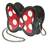 Disney Minnie Mouse Bow Crossbody Clutch Purse Bag
