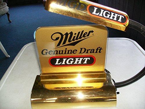 Genuine Draft Light - Miller Genuine Draft Light Cash Register Lamp Works Great