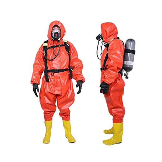 gz Ropa de protección química dedicada con capucha Traje ...