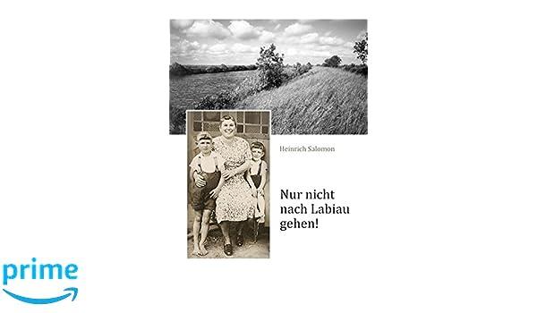 Nur nicht nach Labiau gehen! (German Edition)