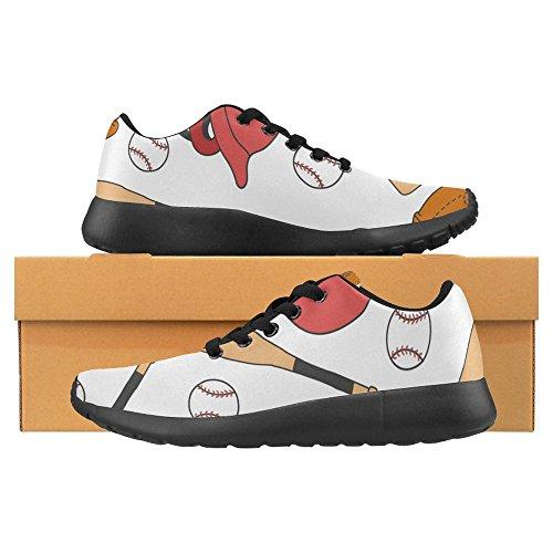 Helmet Running Lightweight Sneaker Jogging InterestPrint Shoes 1 Sports Baseball Casual Baseball Comfort Womens Running Go Easy Walking Multi pqwHxZ