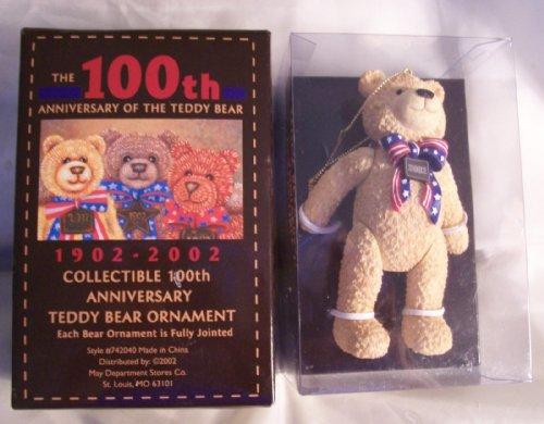- 2002 Wish Bear Ornament Celebrating 100th Anniversary of the Teddy Bear