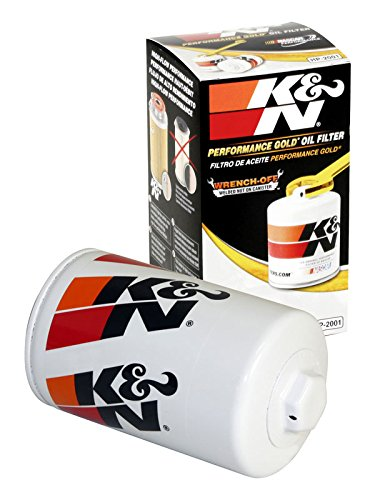 HP-2001 K&N Performance Oil Filter; AUTOMOTIVE (Automotive Oil Filters):