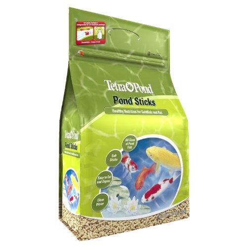 046798164838 - TetraPond 16483 Pond Sticks, Healthy Nutrition for Goldfish and Koi, 1.72-Pound carousel main 0
