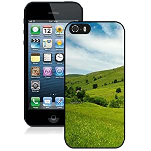 Personalized Phone Case Design with Green Hills iPhone 5s Wallpaper