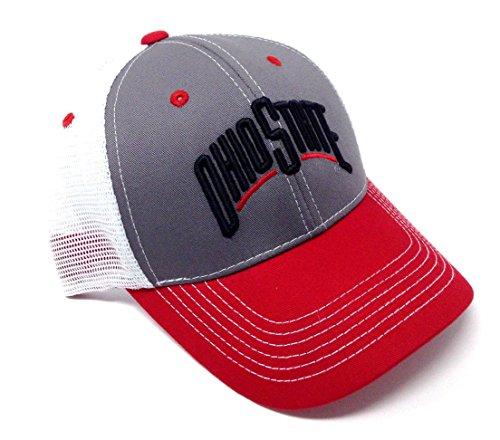 - Eliminator Ohio State Buckeyes Mesh Trucker Snapback