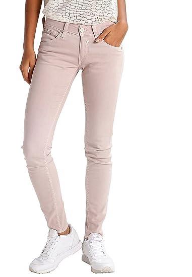 a9f54b68cb4d Herrlicher Damen Jeans Jeanshose Touch Slim Fit (Rosa, W30/L32 ...