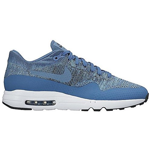 Nike Air Max 1 Ultra 2,0 Flyknit Heren Sneaker Zwart / Wit / Rood 400