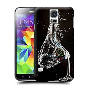 Unique Phone Case Cup smashing drinks-01 Hard Cover for samsung galaxy s5 cases-buythecase
