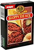 Tempo Sloppy Joe Mix, 6 Boxes,2 oz each