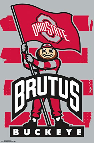 - Trends International The Ohio State University-Brutus Clip Bundle Wall Poster 22.375