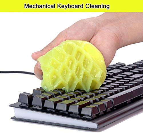 Keyboard Cleaner and Cleaning Gel Universal with 5 Keyboard Cleaning Set Bundle