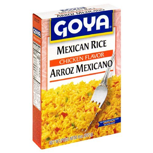 (Goya Mexican Rice, Chicken Flavor 8 Oz (Pack of)