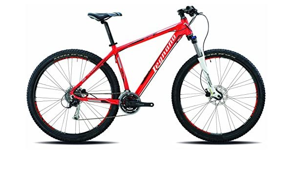 29 pulgadas Legnano Andalo Montaña (aluminio, 24 marchas., rojo y negro: Amazon.es: Deportes y aire libre