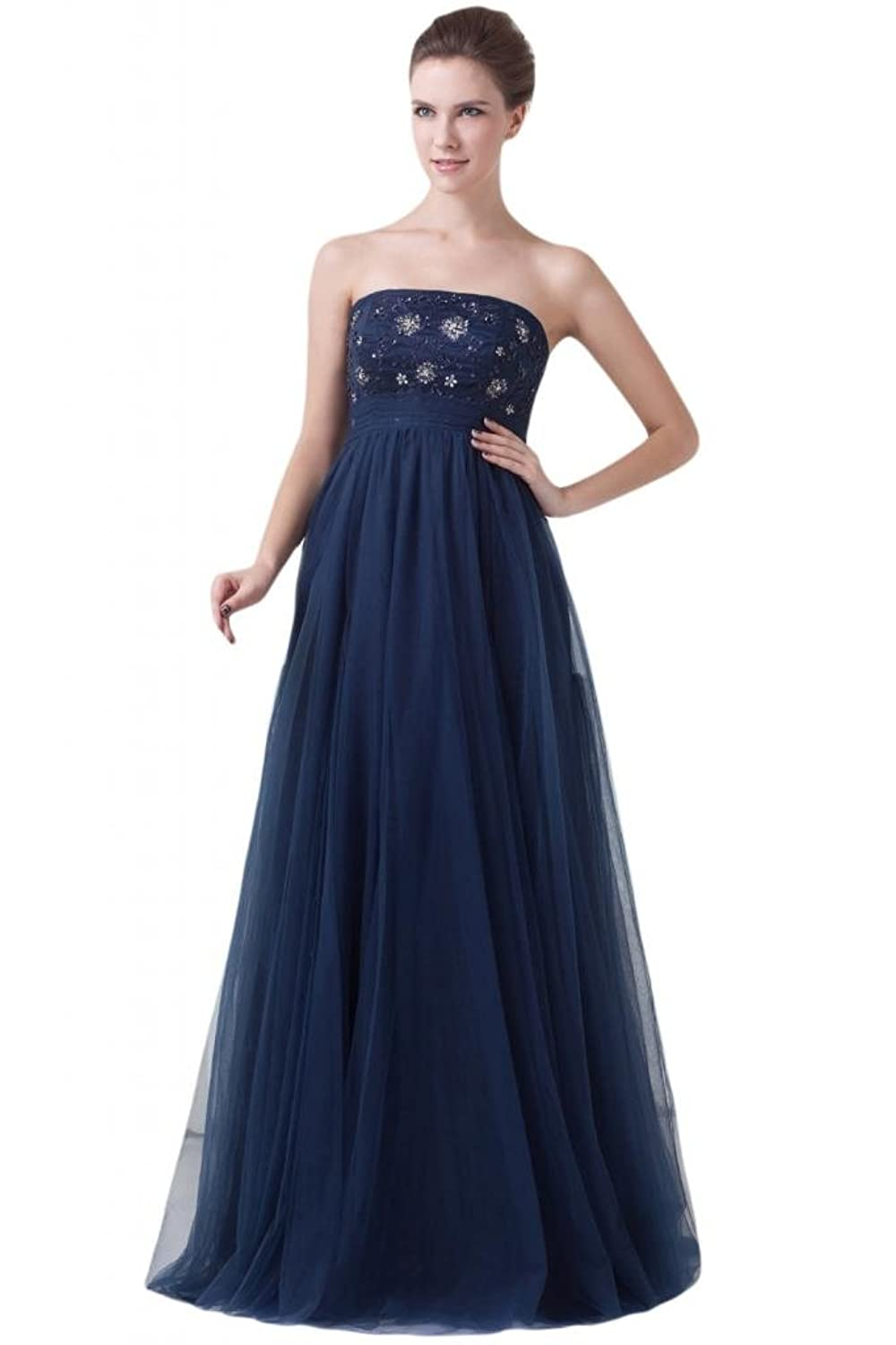 Sunvary Sexy Organza Cascading Ruffle Front Slit Prom Evening Dresses