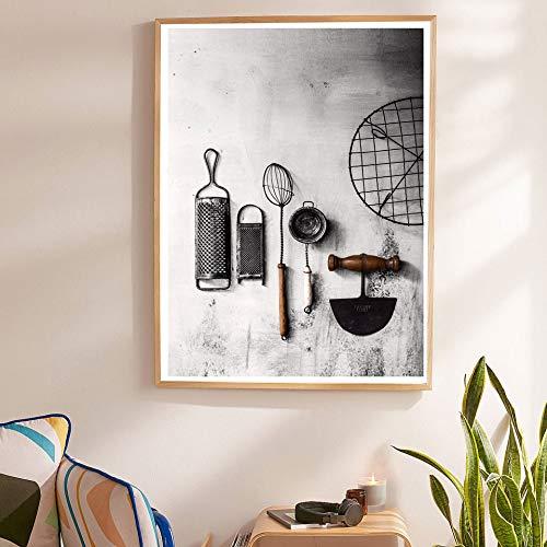 Cartel de la cocina Vanilla Art Lienzo Pintura Cuadro ...