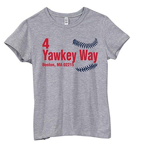 Boston Baseball - 4 Yawkey Way, Boston, MA 02215 Fenway Park, Address T-Shirt