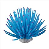 Aquarium Fish Tank Sea Artificial Fake Coral Ornament Decoration Blue