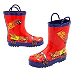 Disney Lightning McQueen Rain Boots for Kids