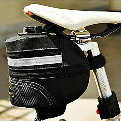 Quickly Remove Mountain Bike Saddle Bag Bicycle Tail Bag