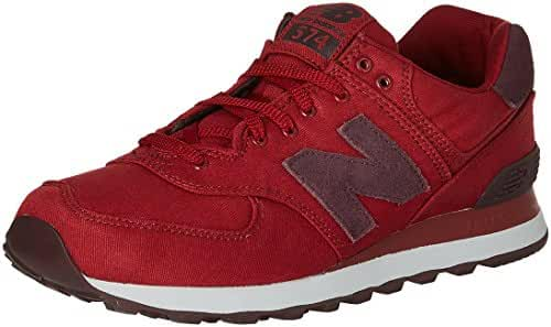 New Balance Men's 574 Canvas Waxed Pack FashionSneakers